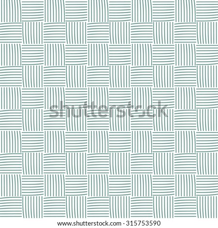 Seamless pattern with balls of yarn. Background in cartoon style. Simple graphics.  - stock vector