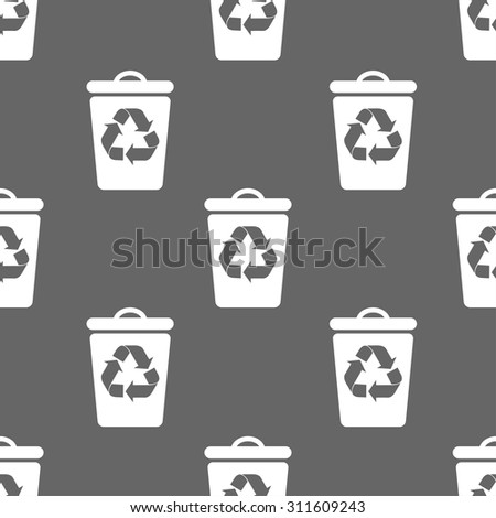 seamless pattern with bin