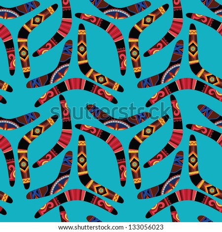 australian boomerang template - boomerang pattern stock images royalty free images
