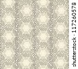 Seamless pattern with chaotic dots. Vector soft texture - stock photo