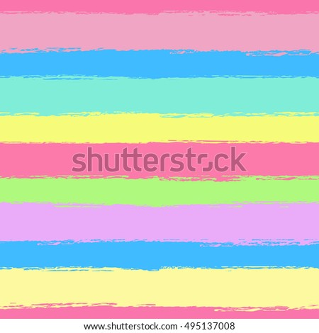 Seamless pattern with color grunge stripes. Vector illustration