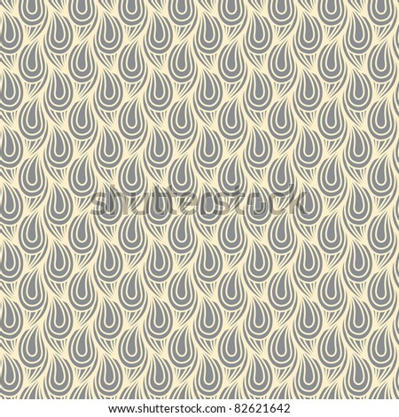 Seamless pattern with curves - stock vector