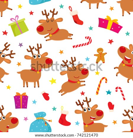 Christmas Reindeer Stock Images Royalty Free Images