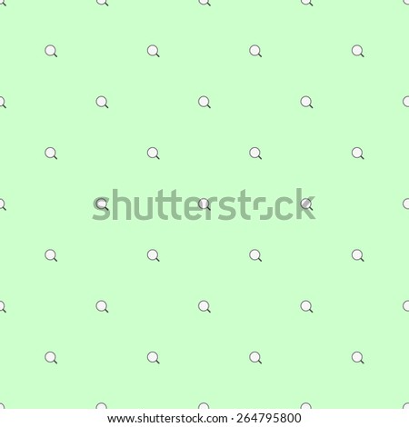 Seamless pattern with elements of web design search light pale green - stock vector
