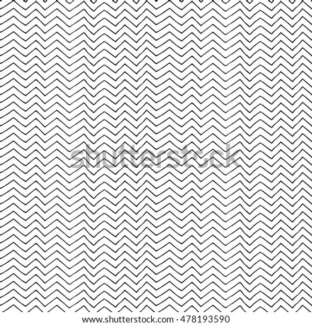 Seamless pattern with hand drawn lines. Vector illustration.