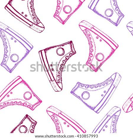 converse shoes vector art backgrounds texture cream