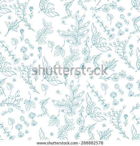 Seamless pattern with leaf, abstract leaf texture, endless background.Seamless pattern can be used for wallpaper, pattern fills, web page background, surface textures.
