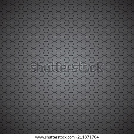 Seamless pattern with metal bars on a gray background - stock vector