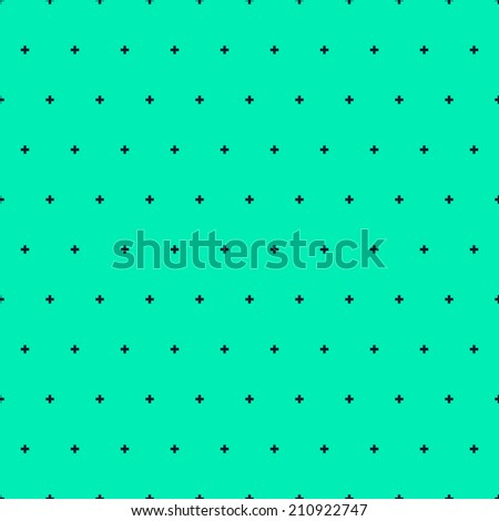 Seamless pattern, with pluses. Space, with abstract stars. Colorful flat design. Can be used for wallpaper, fills, web page background, surface textures. Easy to edit. Vector illustration - EPS10.