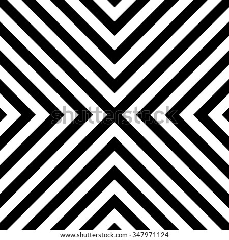 Seamless pattern with regular, diagonal lines forming an X shape. - stock vector