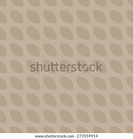 Seamless pattern with repeating elements like corn bread, a light beige and light brown - stock vector