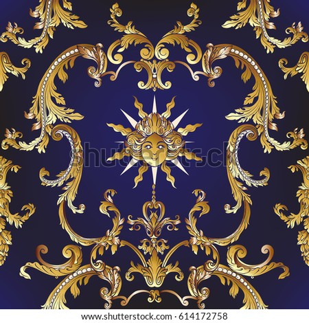 Rococo stock images royalty free images vectors for Rococo decorative style