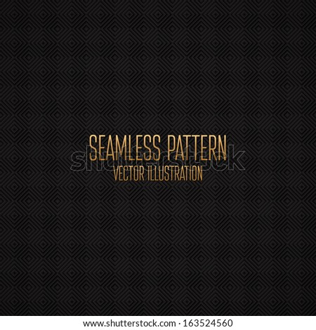 Seamless pattern with squares. Vector illustration - stock vector