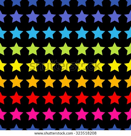 Seamless Pattern with stars. Endless texture can be used for printing onto fabric, paper or scrap booking, wallpaper, pattern fills, web page background, surface texture. - stock vector