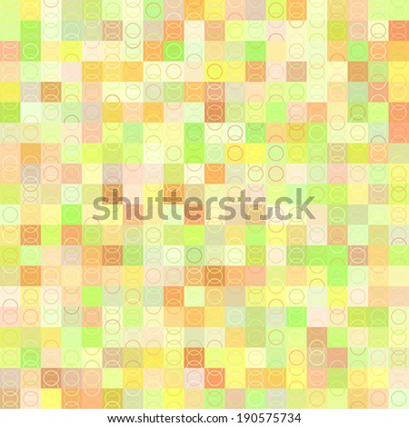 Seamless patterns (tiling).  Abstract geometric ornament. Vector