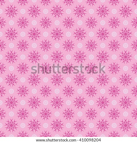 Seamless pink abstract background. Vector Illustration. Pattern fill included.