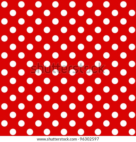 seamless Polka dot background - stock vector