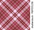 Seamless purple and white-pink cross checkered pattern with diagonal strips (vector EPS 10) - stock photo