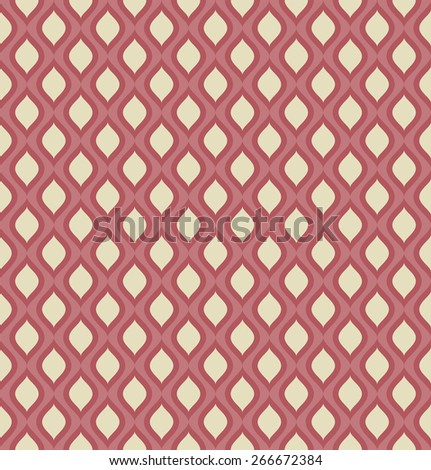 seamless red and yellow colored abstract background vector illustration - stock vector