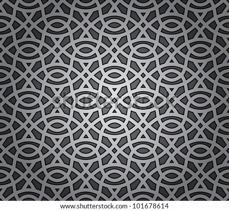 Seamless repeating elements background - stock vector