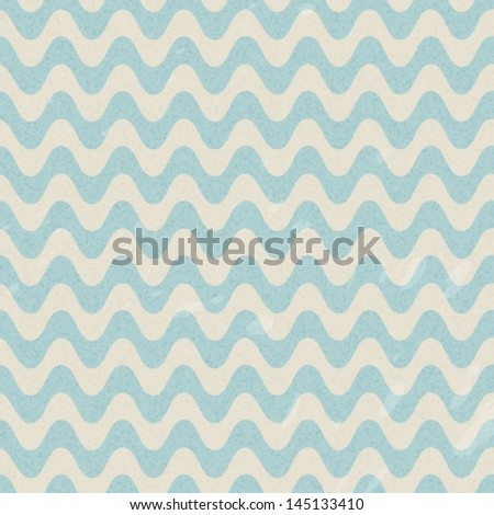 Seamless retro pattern with waves, VECTOR