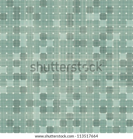 seamless retro squares seamless pattern in blue - stock vector