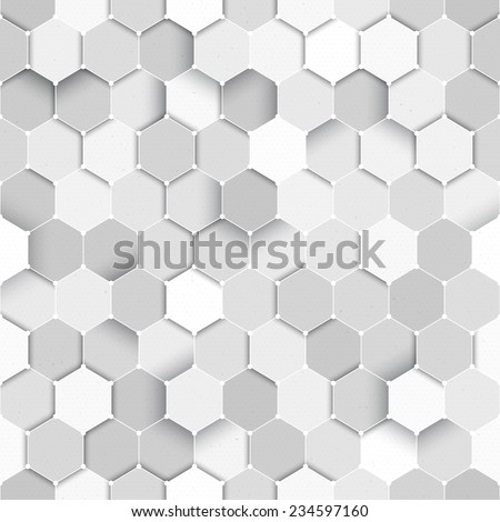Seamless science vector seamless pattern. Technology vector background. Seamless tech vector pattern. Science formula vector background - stock vector