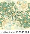 Seamless sea  pattern - stock photo