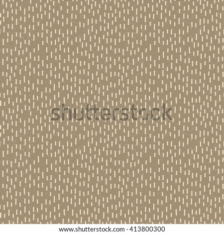 Seamless shabby pattern of rectangles in vector. Abstract background can be used as texture rainfall or animal fur - stock vector