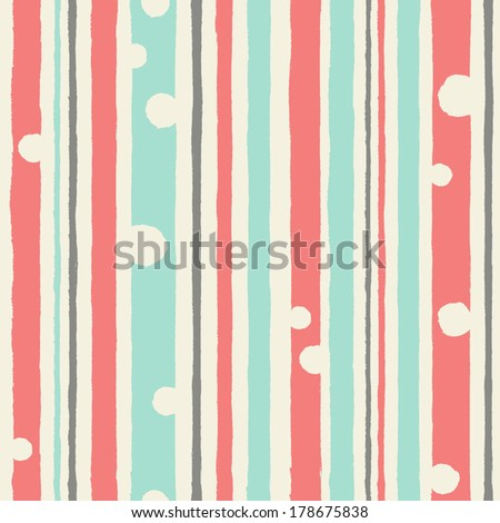 Seamless simple pattern with strips for your design.