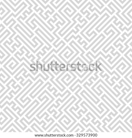 Seamless simple vintage pattern. Ethnic vector textured background eps8 - stock vector