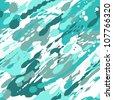 Seamless splash pattern. Vector illustration - stock vector