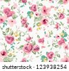 seamless spring cute tiny vintage floral ,flower pattern background - stock