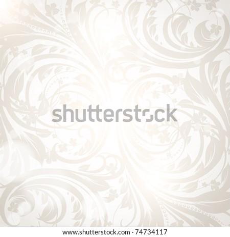 Seamless spring or summer wallpaper, vector background for design. eps 10. - stock vector