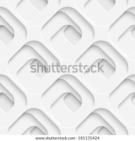 Seamless Square Pattern - stock vector