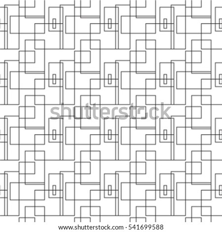 Seamless square pattern rectangle
