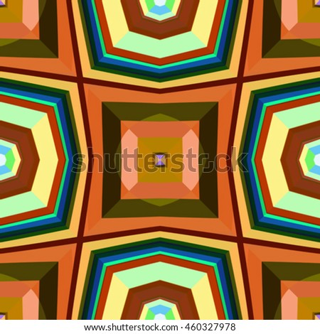 seamless squared textures, abstract pattern, vector art illustration