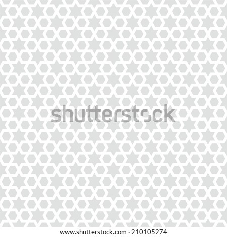 Seamless star background pattern illustration - stock vector