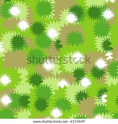 Seamless Stars Background - stock vector