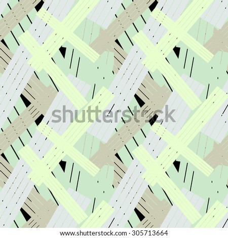 Seamless sticks vector pattern. Abstract textile background. Backgrounds & textures shop. - stock vector