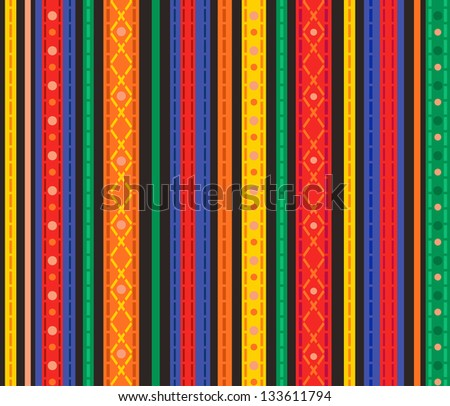 Seamless striped pattern. Vector illustration for your design