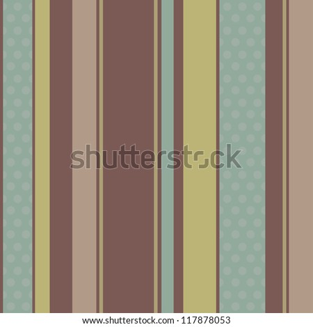 Seamless striped vintage pattern. Vector illustration for your design