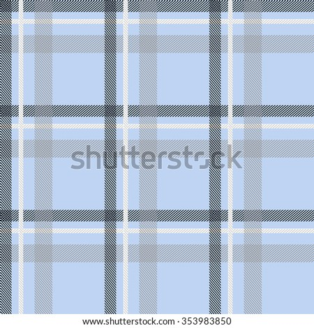 Seamless stripped fabric pattern. Retro textile collection. Light blue. Backgrounds & textures shop. - stock vector