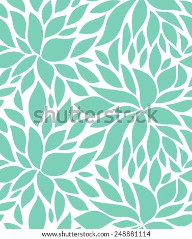 Seamless stylish pattern with  raindrops. Vector illustration - stock vector