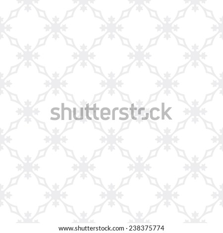 Seamless subtle gray vintage revival geometric pattern vector - stock vector