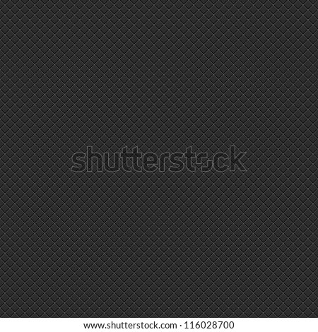 Seamless subtle pixel patterns with crisscross wire mesh textured on black background. Popular template backdrop for web internet project or site. Vector illustration design element clip-art 8 eps. - stock vector