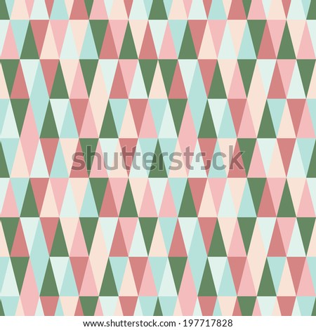 seamless summer pattern - stock vector