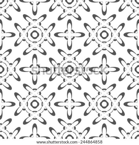 seamless texture, abstract geometrical pattern, vector art illustration - stock vector