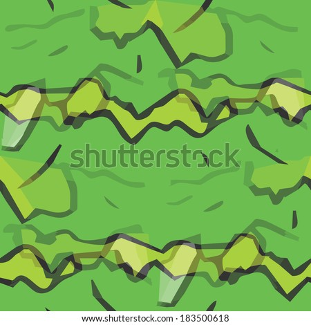 seamless texture (EPS 8) america ancient background green wallpaper cubism impressionism