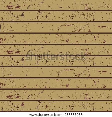 seamless texture of a wooden beam - stock vector